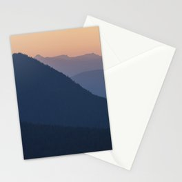 Silhouettes at Sunset, No. 2 Stationery Cards