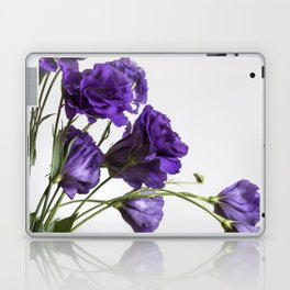 Purple Lisanthus Flowers #1 Laptop & iPad Skin
