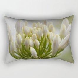 Agapanthus Painting Rectangular Pillow