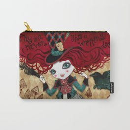 Mad Riddle Carry-All Pouch