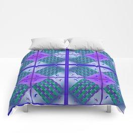 Moonlight Blue, Design pattern Comforters