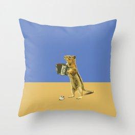 Busker Throw Pillow