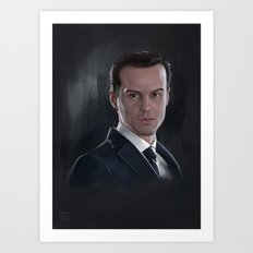 The Consulting Criminal Art Print