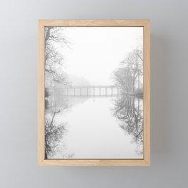 Spring Lake New Jersey in the Fog Framed Mini Art Print