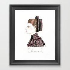 Chanel Haute Couture Fall 2013 Framed Art Print