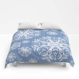 winter pattern Comforters