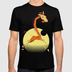 Giraffe Mens Fitted Tee Black MEDIUM