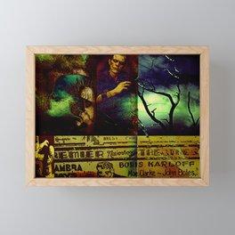 Monsters 1 Framed Mini Art Print
