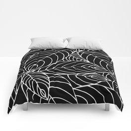 malaysian leaves Comforters