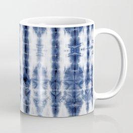 Tiki Shibori Blue Coffee Mug