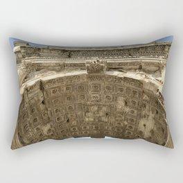 Arch of Titus Rectangular Pillow