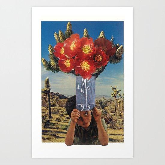 sonic bloom Art Print