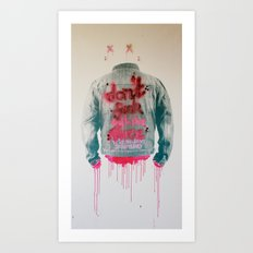 dont fuck wtf Art Print