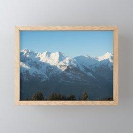 The mountain, Alps 2 Framed Mini Art Print