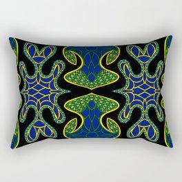 Snake Eyes Rectangular Pillow