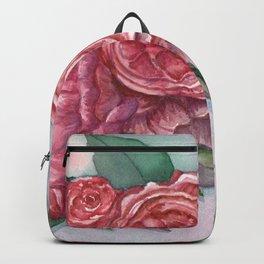 Cottage Roses Backpack