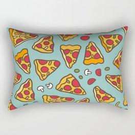 Funny pizza pattern Rectangular Pillow