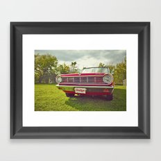 Ready for a ride! Framed Art Print