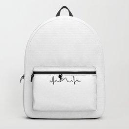 Hiking Heartbeat bw Backpack