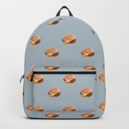 Double Cheeseburger, Plain Backpack