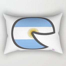 Argentina Smile Rectangular Pillow