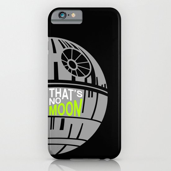That's No Moon iPhone & iPod Case