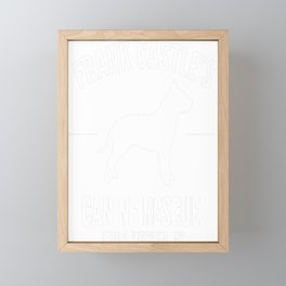 Frank Castle - Dog Rescue Framed Mini Art Print
