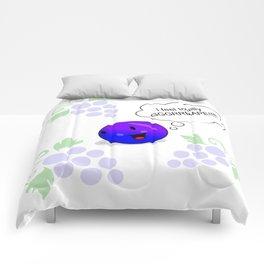 Feeling Totally Grrrape! Comforters