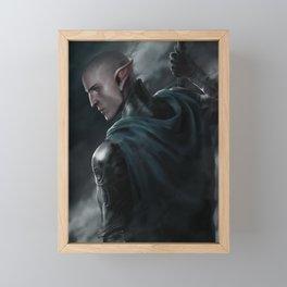 Ashes Framed Mini Art Print