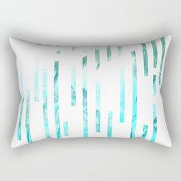Minimial Lines - Summer Rectangular Pillow