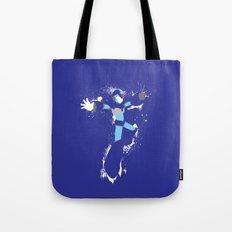 Mega Man X Splattery Design Tote Bag