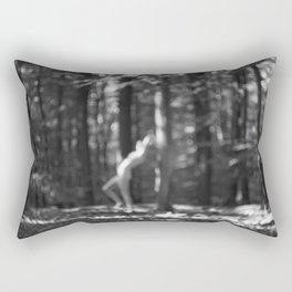 nymph / bw Rectangular Pillow