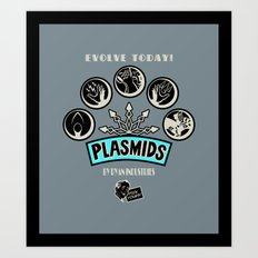 Plasmids Art Print