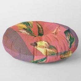 leaf motive Floor Pillow