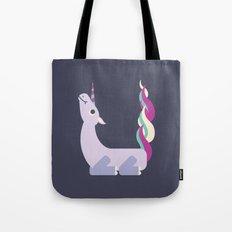Letter U // Animal Alphabet // Unicorn Tote Bag