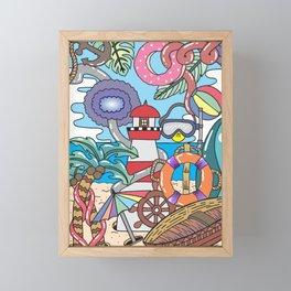 EYRE Framed Mini Art Print