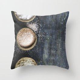 salt Throw Pillow