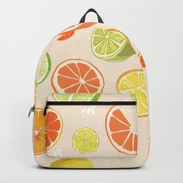 Citrus Fruit Fun Backpack
