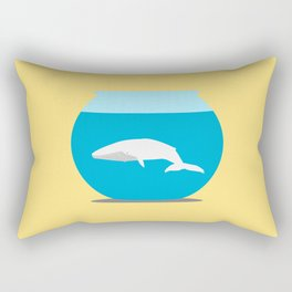 Small whale Rectangular Pillow