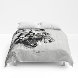 Tiger - The king of the jungle Comforters