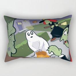 Trick or Treat Trauma Rectangular Pillow