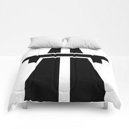 Freeway, Motorway, Autobahn - Black Comforters