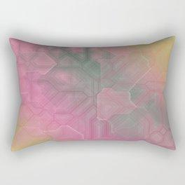 future fantasy rush hour Rectangular Pillow