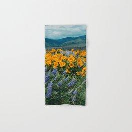 Oregon Spring Wildflower Hillside Hand & Bath Towel