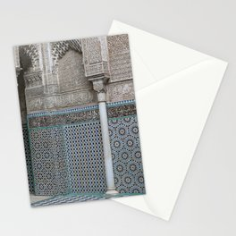 Marocco Columns Mosaic Stationery Cards