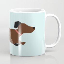Home is where the tail is - Dachshund (Mint Julep)  Coffee Mug