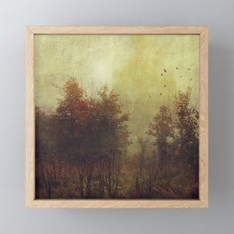 Fall Rust Framed Mini Art Print