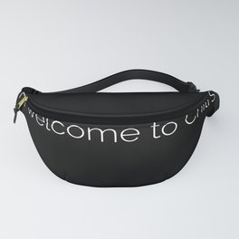 Hi welcome to Chili's meme Fanny Pack