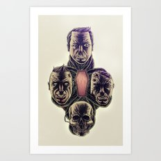 Theory of a Deadman Art Print