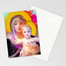 Our Lady Luminescence  Stationery Cards